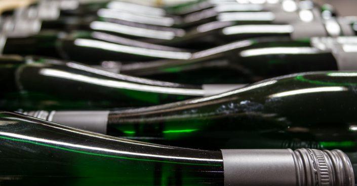 Lager der Riesling-Weine