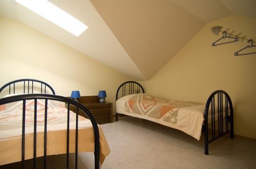 Ferienwohnung Auslese | oberes Schlafzimmer
